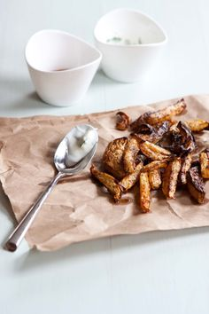 kohlrabi fries • five and spice