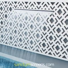 Sanctum design gallery showcases fresh ideas in feature screens & gates Fence Screening, Backyard Landscaping, Screens, Gallery, Projects, Design, Woodworking, Canvases, Log Projects