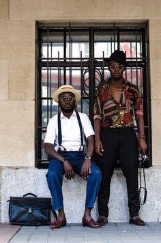 Self-Taught Fashion Guru Inspires Vintage Style in Namibia