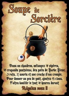 affiche soupe de sorcière Anime Yugioh, Anime K, Anime Body, Anime Pokemon, Anime Plus, Theme Halloween, Halloween Potions, Harry Potter Halloween, Halloween Books