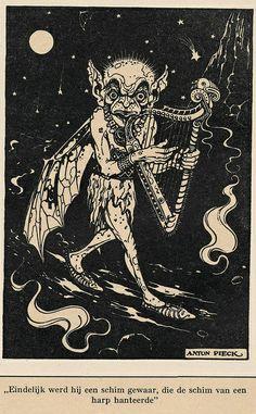 Anton Pieck Helden der mensheid 1941 ill Finn