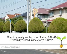 Should I rely on the Bank of Mum and Dad? / Should I lend money to my kids? First Home, Families, Finance, Parents, Dads, Money, Silver, My Family, Raising Kids