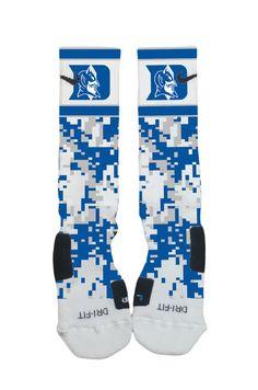 Nike Elites  Duke Blue Devils Nike Elite Socks  by SocktimusPrime