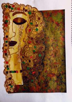Bastelmania: Inspired by Klimt