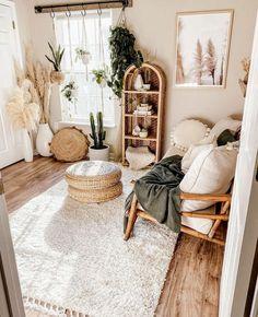 Room Ideas Bedroom, Zen Bedroom Decor, Zen Home Decor, Zen Room, Cute Room Decor, Aesthetic Room Decor, Boho Living Room, Cozy Room, My New Room