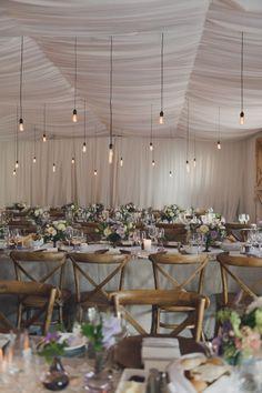Elegant lavender and lace farm wedding: http://www.stylemepretty.com/2014/08/11/elegant-lavender-and-lace-farm-wedding/ | Photography: http://rebeccaamberphotography.com/