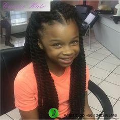"Havana Mambo Braiding Hair Kanekalon kinky Marley twist braids 12-24"" Havana Twist Style Synthetic Crochet Twist Braids Hair"