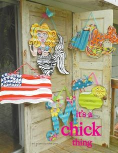Chunky Chicks Tin Art...love her stuff, but i still haven't ordered anything yet!