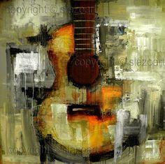 Mixed Media Series - Original Contemporary Painting - Modern Abstract Art by SLAZO - 48x48