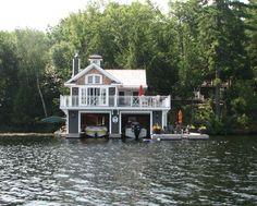 Another Muskoka boat house
