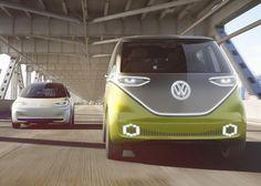 Volkswagen I.D. : le BUZZ électrique sera lancé en 2022