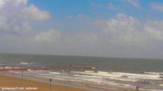 Lookin' good on the beach in Galveston. #webcam