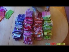 Working With Colors - English Paper Piecing Tutorials and Products - theDIYaddict