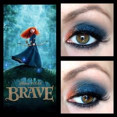 Nicole Lemos, Makeup Junkie: Brave Series: Princess Merida