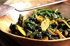 Spinach Sauteed With Indian Spices, Low Carb (vegetarian, gluten-free, paleo