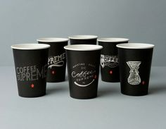 Chalkboard to go cups