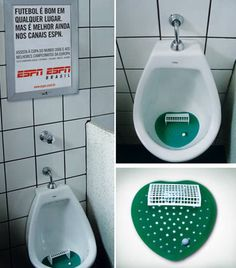 Para ponernos a tono con el próximo mundial, aquí una campaña BTL de ESPN