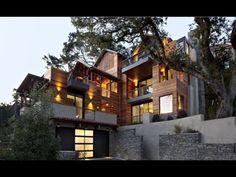 hillside house plans with walkout basement - Google Search