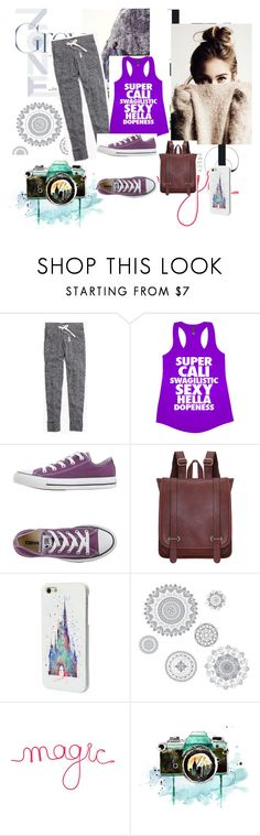 """""""casey"""" by shakiadinkins on Polyvore featuring interior, interiors, interior design, home, home decor, interior decorating, Madewell, Converse, Disney and WallPops"""