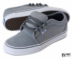 Vans Shoes Mens Chukka Low GRY-RIPSTP