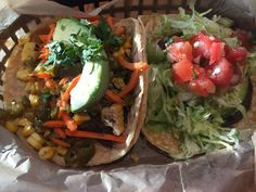 The Vegan Nom - Austin, TX, United States. Vegan tacos are the bomb!