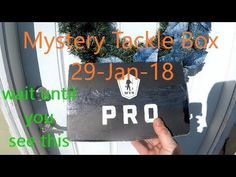 Mystery Tackle Box Unboxing January 2018 - MTB PRO Walleye