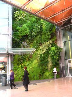 Les Quatre Temps, Porte de Paris, la Défense | Vertical Garden Patrick Blanc