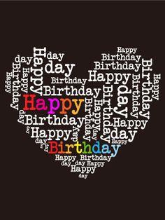 Happy Birthday!!!!  Bugün doğdun... şubat 28' de aklıma gelirdin.....