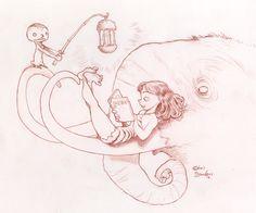 Cave Girl Menu - Chris Sanders