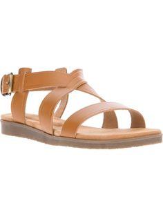 A.P.C. | Flat Sandal ($282.79) #Coveted #WideStrapSandal #APC