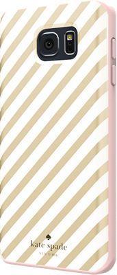 kate spade new york Flexible Hardshell Case for Samsung Galaxy Note 5 - Gold Diagonal Stripe - Verizon Wireless