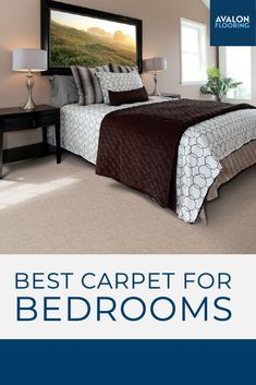 Learn about how to choose the best carpet for your bedroom spaces on our blog!