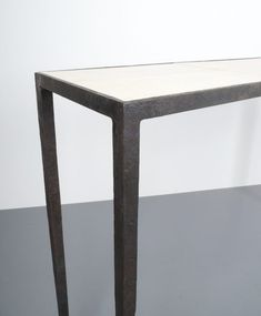 Jean-Michel Frank Attributed forged wrought iron console table, France