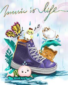 Converse Chuck Taylor High, Converse High, High Top Sneakers, Chuck Taylors High Top, High Tops, Art, Musik, Art Background, Kunst