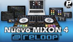 """Reloop  lanza el """"Mixon 4""""  con la majestuosa colaboración de Serato DJ y AlgoRiddim..."""