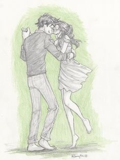 Harry and Ginny, there goes the fear:  burdge-bug on deviantART