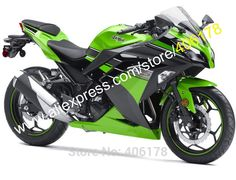 369.55$  Watch now - http://aid9c.worlditems.win/all/product.php?id=32364200675 - Hot Sales,For Kawasaki Ninja 300R 2013 2014 2015 2016 EX300 Ninja300 EX 300 Green Black Motorcycle Fairings (Injection molding)