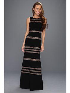 BCBGMAXAZRIA Katiana Woven Evening Gown $200