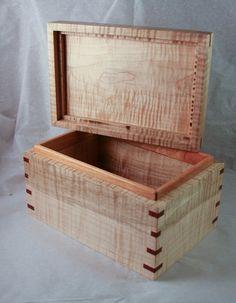 Build A Cigar / Trinket / Secret Storage Box With A Lid #DIY