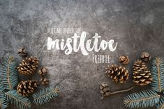 Top view winter arrangement with cones Adobe Photoshop, Hello Winter, Under The Mistletoe, Grafik Design, Top View, Free Photos, Mockup, Design Art, Christmas