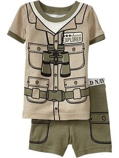 Adventure-Costume PJ Sets for Baby | Old Navy
