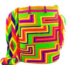 Wayuu Mochila -  Authentic Handmade Wayuu Bag - Renata - MOBOLSO - 1