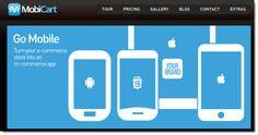 MobiCart, para hacer tiendas virtuales desde Android, iPhone y iPad