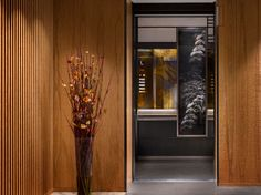 Lift of the Four Seasons Kyoto by HBA Design.