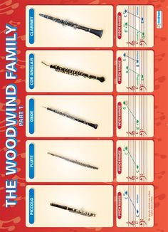 From our Music poster range, the The Woodwind Family (part Poster is a great educational resource that helps improve understanding and reinforce learning. Music Class Rules, Music Lessons, Oboe, Piano Lessons For Beginners, Music Station, Music Education, Health Education, Physical Education, Music And Movement