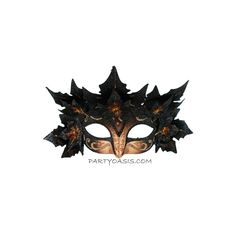 Masquerade Vixen Mask ($35) ❤ liked on Polyvore featuring masks
