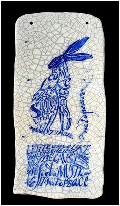 Iris Milward  Hare Plaque