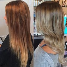 #beforeandafter by Sarah! Transformed this beauty to an ashy icey blonde #balayage!  #embeemeche #balayage #highlights #balayageombre #balayagehighlights  #balayagehair #hairpainting #paintedhair #sombre #subtleombre #schwarzkopfusa #igoraroyal #blondeme #hairunited #behindthechair #olaplex #salononaj #wolfroad #albany #newyork #colonie #hannoush #hannoushplaza #capitaldistrict #capitalregion @schwarzkopfusa @embee.meche @olaplex @behindthechair_com @modernsalon #modernsalon by salononaj