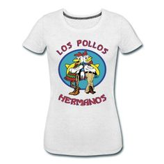 Want. los pollos hermanos T-Shirt | Spreadshirt | ID: 14808227