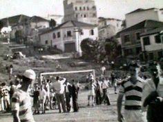 São Paulo de ontem Campo de futebol do Bairro do Tucuruvi, na cidade de São Paulo/SP, na década de 1960, onde hoje encontra-se a estação Tucuruvi do metrô.   Foto Internet Acervo de Alfredo Dias Jr. geocidade blog spot).